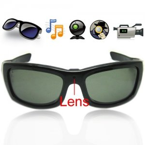 1280 x 720P 3.0MP 4GB Hidden Camera Sunglasses Eyewear DVR